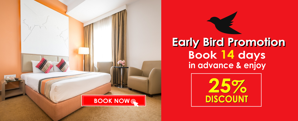 Hotel Sentral Pudu Early Bird 25% Promotion