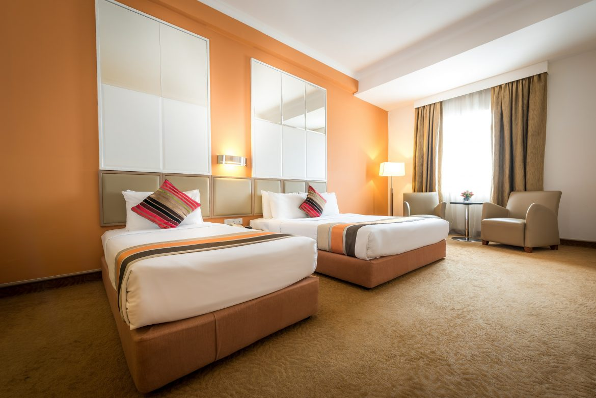 Hotel Sentral Pudu Deluxe Twin Room