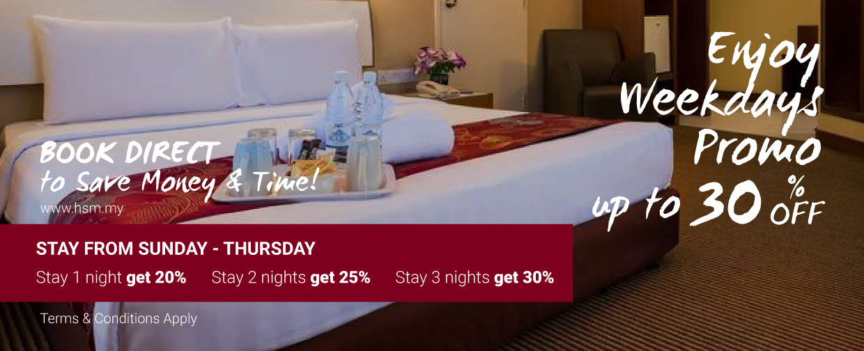 Hotel Sentral Pudu Weekdays Promotion