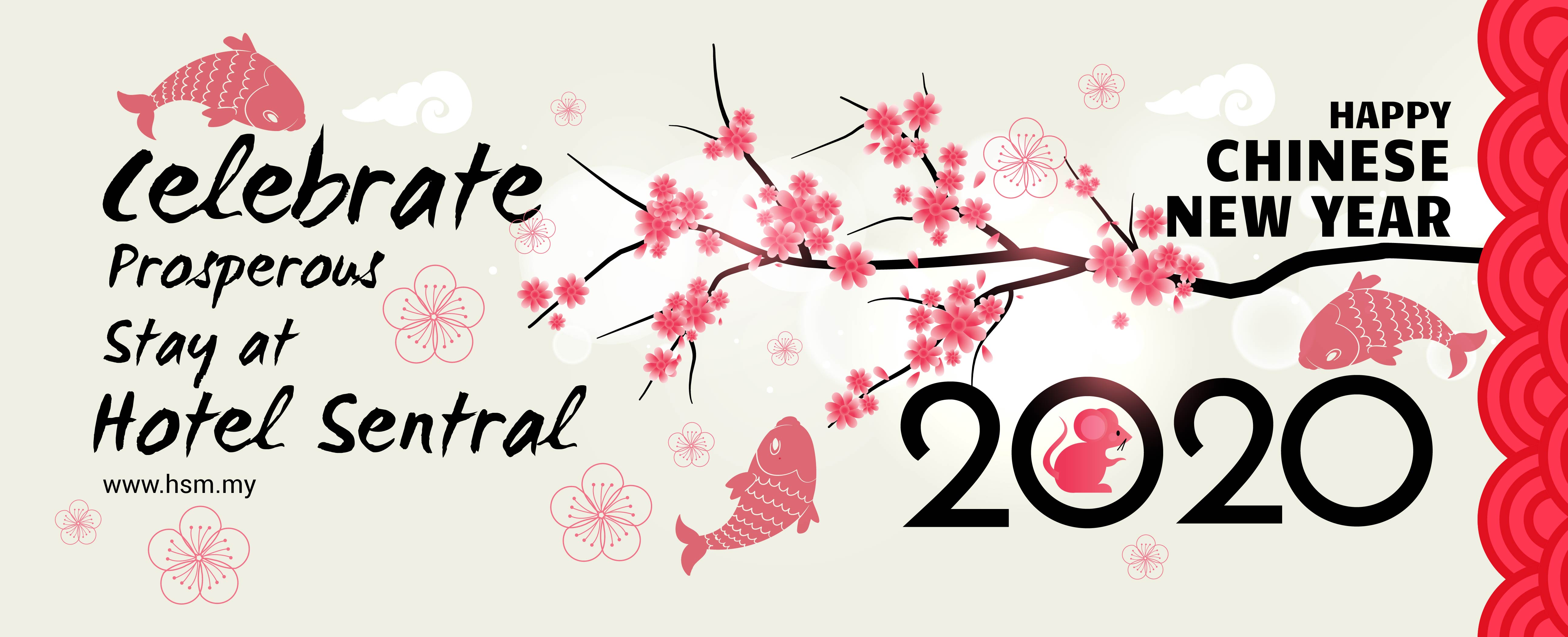 Hotel Sentral Group - Chinese New Year Banner